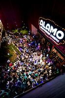 Carrie Fisher Lightsaber Vigil at The Alamo Drafthouse South Lamar