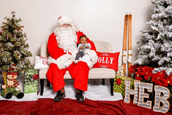 Heb Christmas Eve Hours.Heather Leah Kennedy H E B Santa Claus 2018 Photo 16