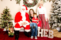 H-E-B Santa Claus Photobooth