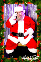 Highball Drunk Santa Photobooth